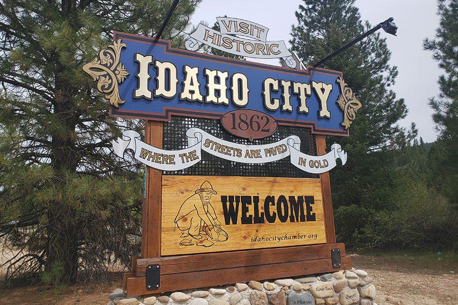 Idaho City Marquee